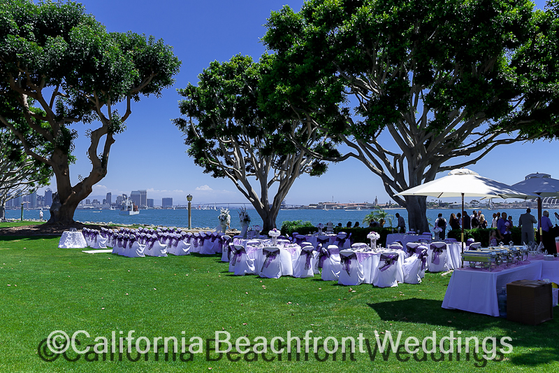 Southern California Beach Front Weddings Affordable Receptions